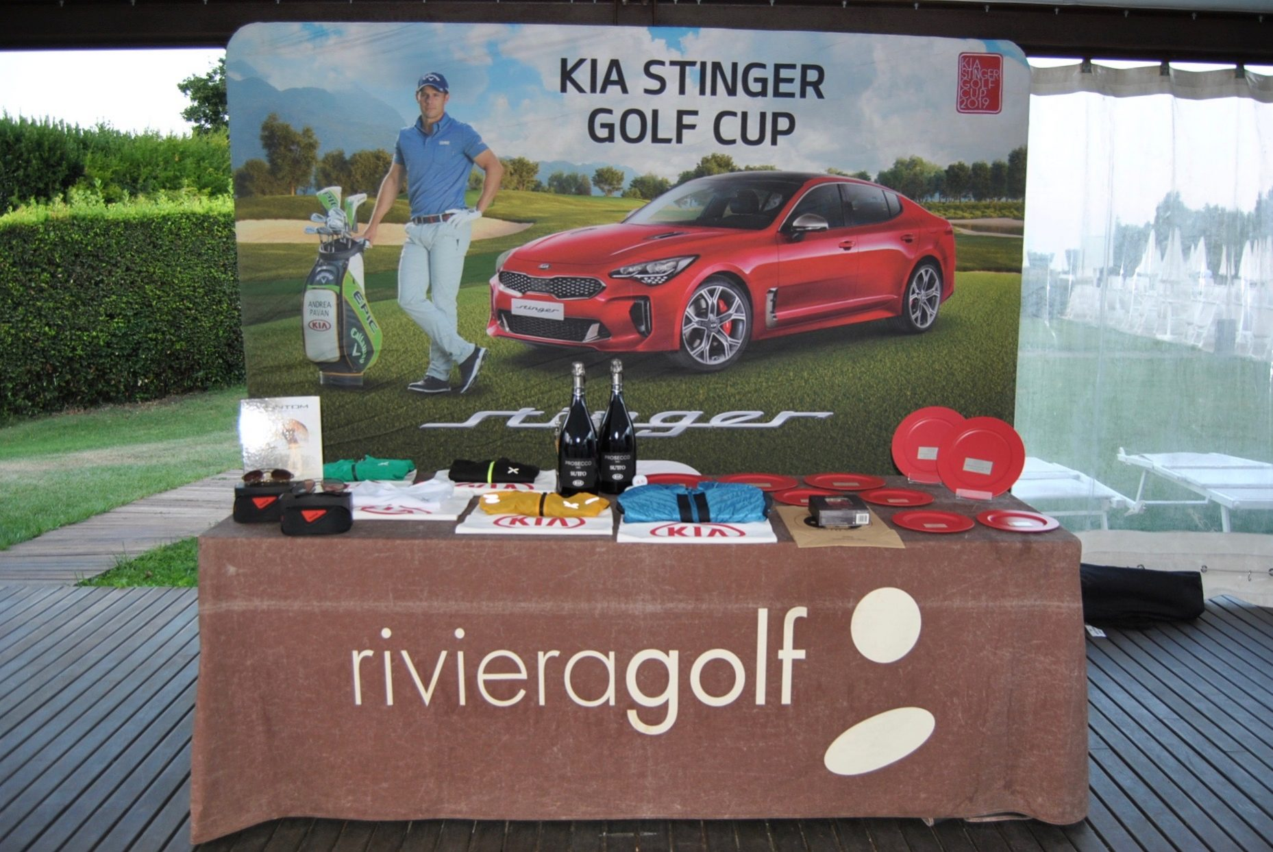 Kia Stinger Golf Cup Boattini