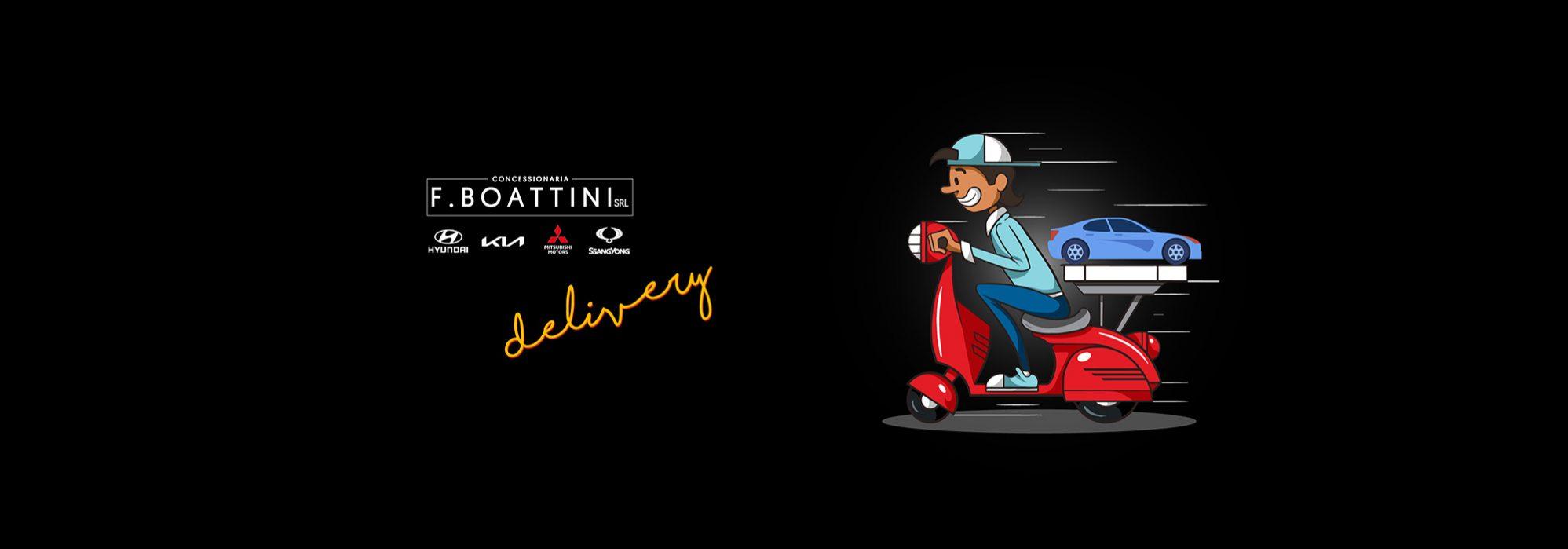 Boattini Delivery
