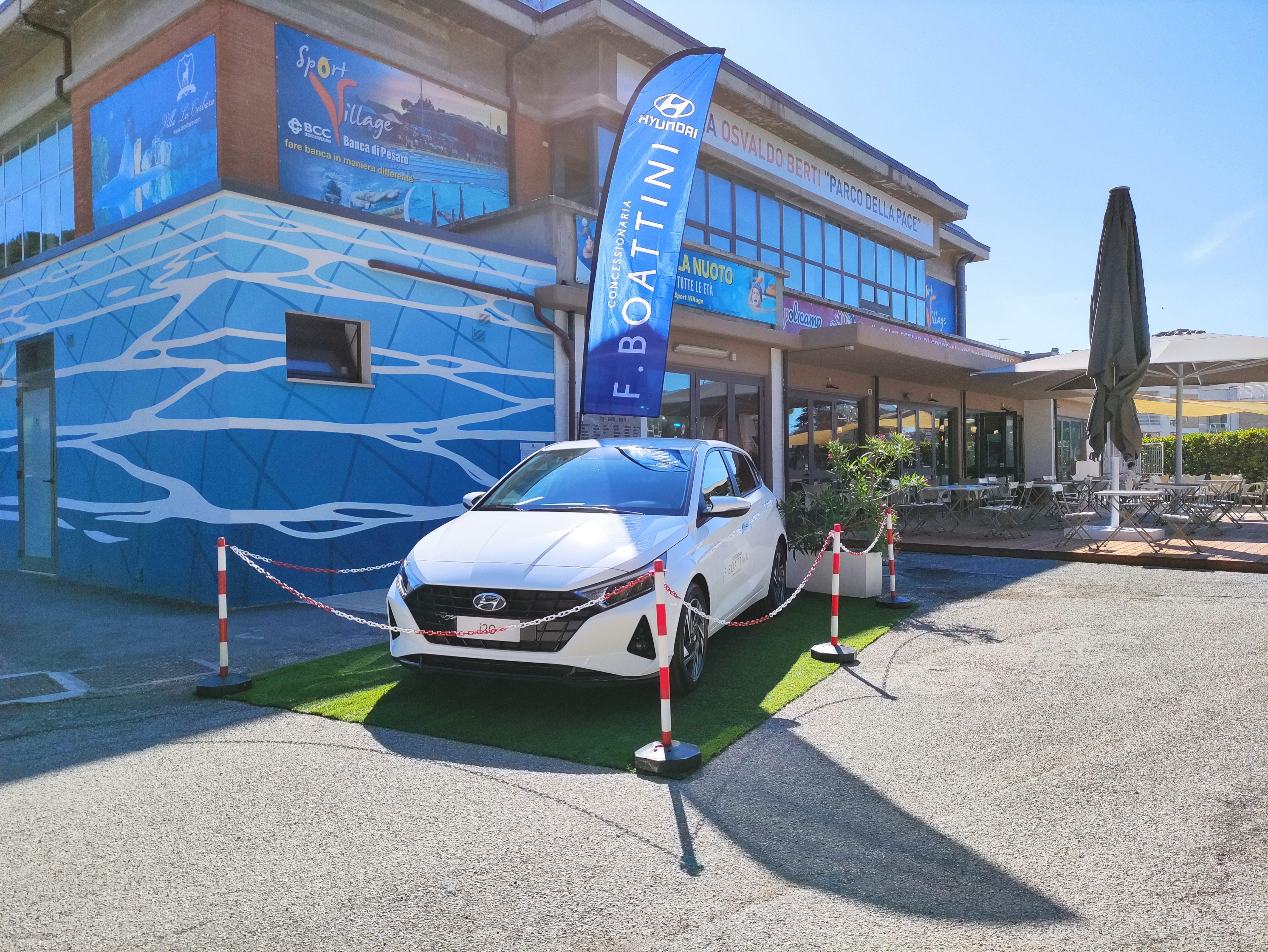 Collaborazione Concessionaria Boattini e Piscina Sport Village Pesaro